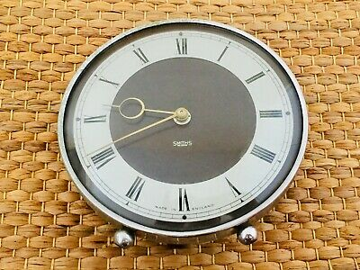 Smiths Bakelite Face 30 Hour Mantle Clock Mid Century Made In England