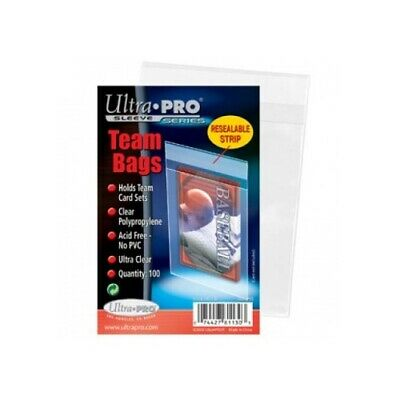 Ultra Pro 81130 UP - Team Bags - Resealable Sleeves (100 Bags)