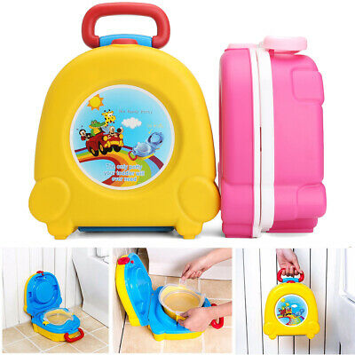 Kids Baby Child Portable Toddler Travel Potty Toilet Training Chair Car