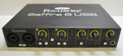 Focusrite Saffire 6 USB Audio-Interface