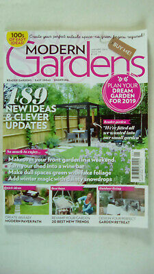 Modern Gardens Magazine January 2019 Issue Number 34