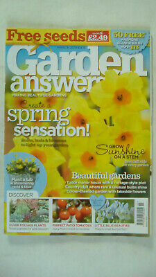 Garden Answers Magazine March 2019 Magazine Only No Free Seeds