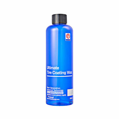 Fireball Ultimate Tire Coating Wax 500ml (Blue) with trigger & Tire Applicator