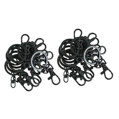 20//30//40//70pcs Lobster Claw Clasps Connector Necklace Chain Jewelry Findings HC