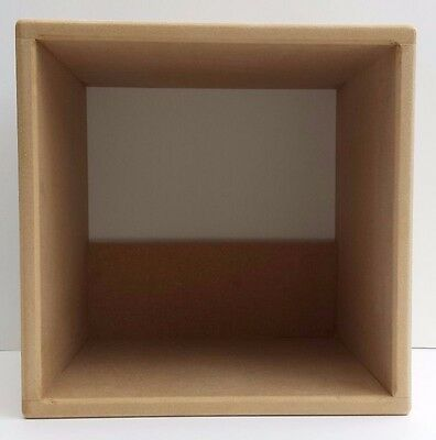 """Pair Of 12"""" Vinyl Record Storage Cube  ( 2 Cube Special Offer"""