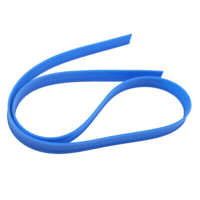105cm Squeegee Window Wiper Glass Cleaning Squeegee Rubber Strip Blade Blue
