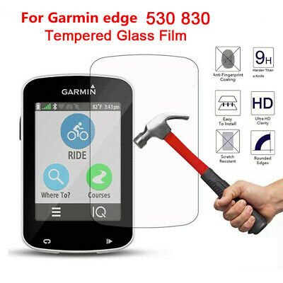 For Garmin Edge 530 830 Tempered Glass Screen Protector Cover Film Clear Lots
