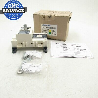 Socomec Break Switch 100A 600V 27PV2009 *New In Box*