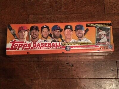 2019 Topps Factory Set (special retail version 710 cards) - unopened & sealed.