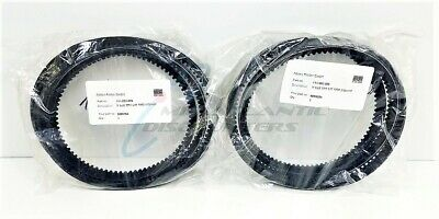 2 Amtec Kistler Heat and Oil Resistant Antistatic V-Belt Wedge Belt XPA 1800