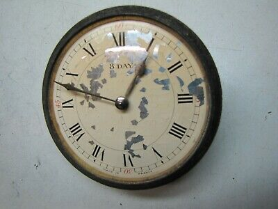 An Edwardian Insert Clock Movement with damage