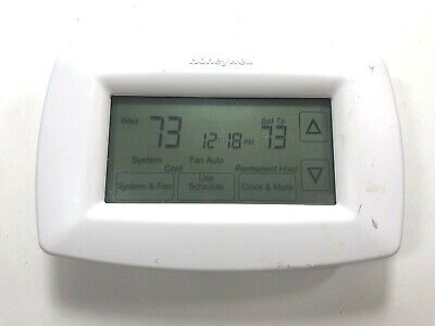 Honeywell Touchscreen 7-Day Programmable Thermostat RTH7600D Digital