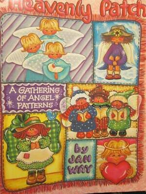 Heavenly Patch Painting Book-Jan Way-Angel Patterns