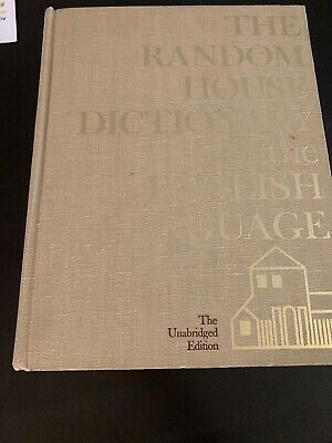 VTG 1973 The Random House Dictionary of the English Language Unabridged Edition