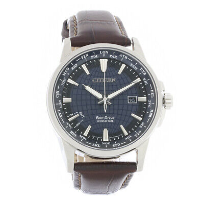 Citizen Eco Drive World Time Perpetual Calendar Watch BX1000-06L