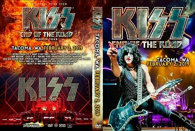 Kiss Live Dvd Fan Edition Tacoma 2019 End Of The Road