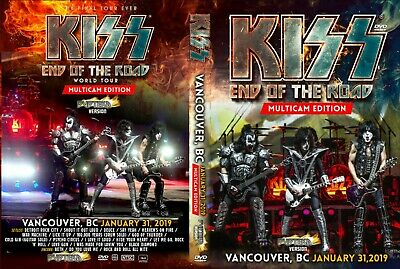 Kiss Live Dvd Fan Edition  Vancouver 2019 End Of The Road