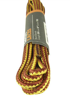 Timberland Bootlaces Laces Tan Chamois (Blonde) Round Shoelaces - Free Uk P&P!