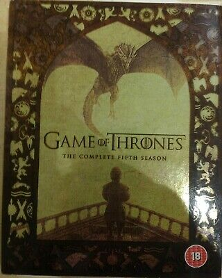 Game of Thrones Complete Fifth Season - Blu-Ray - Great Condition (Series 5)