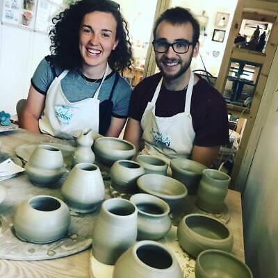 Pottery Breaks - Classes / potters wheel holiday, cosy Devon cottage