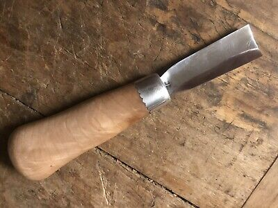 Beckwith Arts Maple Burl Woodcarving Palm Gouge Spoon Carving Wood Carving Tool