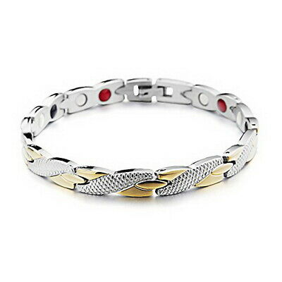 Wristband Magnetic Therapy Bracelet Arthritis Pain Relief Copper Plated Bangle