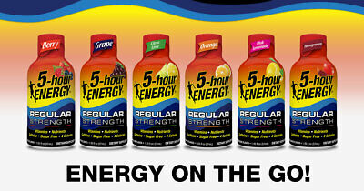 5-Hour Energy 24-pack Variety (Customization available)