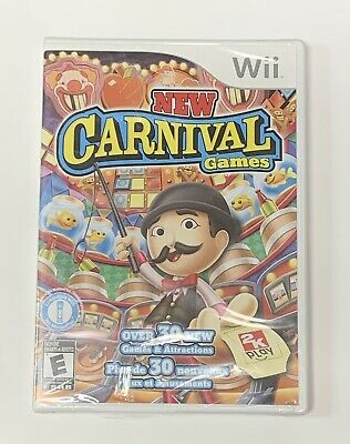 New Carnival Games Nintendo Wii Brand New Factory Sealed