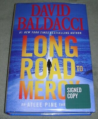 SIGNED ~ LONG ROAD TO MERCY by David Baldacci   2018 HC/DJ ~ 1st / 1st + Cover