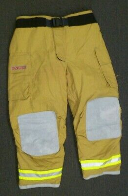 48x32 Globe Gxtreme Firefighter Pants Turnout Bunker Fire Gear w/ Liner P102