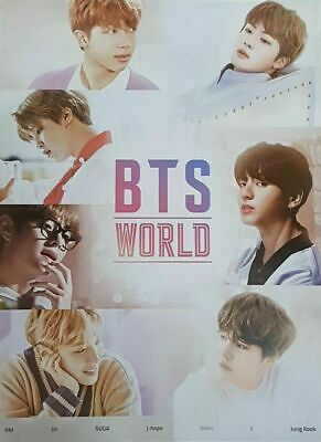 [Tube + Tracking Included] - Bts World Ost Poster Only