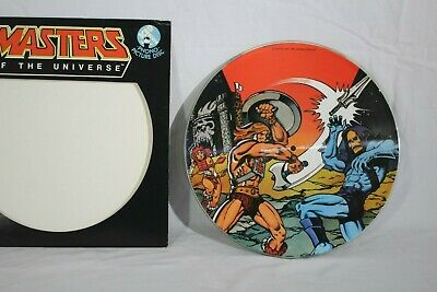 "1983 Masters Of The Universe LP Vinyl Record Album 12"" Limited Edition He-Man"