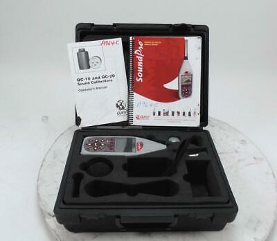 Quest Technologies SoundPro Hand Held Sound Level Meter & Real-Time Frequency An