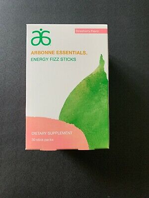 Arbonne Strawberry Fizz Sticks. Limited Edition! SOLD OUT! Brand New