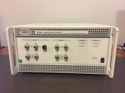 TAS Netcom Spirent SR5500 Wireless Channel Emulator  **Free Shipping**