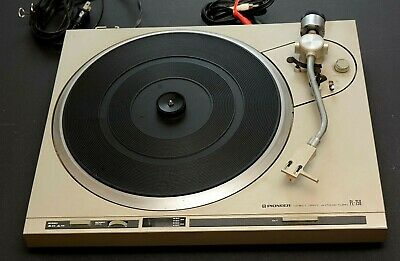 Pioneer Direct Drive Auto Return PL-250 Turntable Record Player  VG to EX