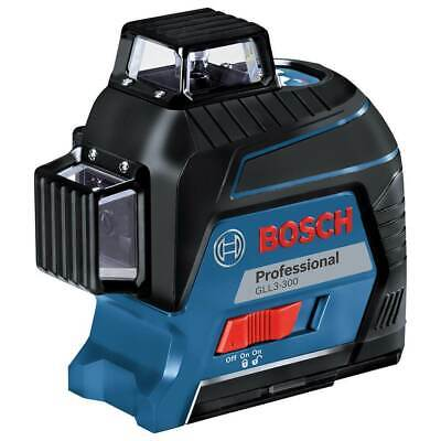 Bosch GLL3-300 360-Degrees 3-Plane Red Beam Self-Leveling Line Laser