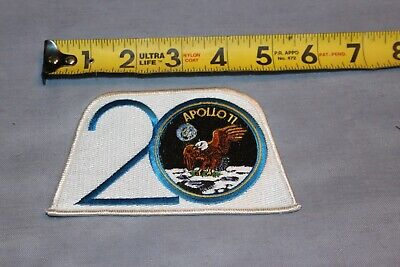 Apollo 11 Beta Patch Red Number Crew Emblem /& Crew Litho Autopen NASA Package