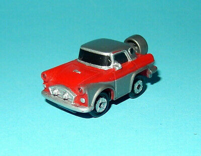 MICRO MACHINES - FORD THUNDERBIRD '56 red/grey MICRO LIGHTS WORKING! car lot