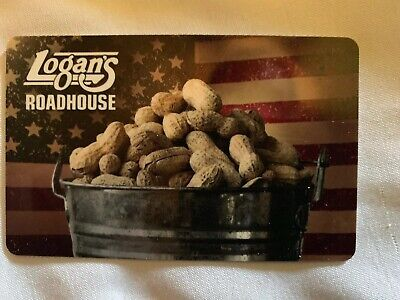 $25 Logan's Roadhouse Gift Card - No Expiration Physical Card -
