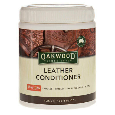 Oakwood Leather Conditioner 1Litre - ALL Leather goods, Oil Restoration