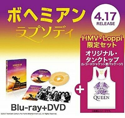 Bohemian Rhapsody 2 Disc Blu-ray & DVD [HMV · Loppi limited with Tank Top]