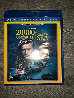 20,000 Leagues Under The Sea (Disney Movie Club) Blu-ray (see description)