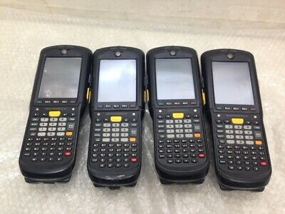 LOT OF 4 Motorola MC9598- Handheld Mobile Computer PC Barcode Scanner { UNTESTED