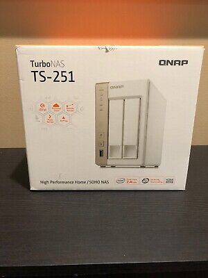 QNAP TS-210 TURBO NAS Network Storage System - 2 bay - No
