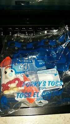 2019 McDonald's Toy Story 4 Happy Meal Toys #4 Forky's Toss New