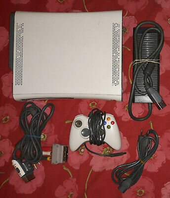 """Console """"Microsoft Xbox 360"""" + Kinect + 3 Games + Controller + Cords"""