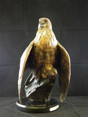 First Light Red Tail Hawk Montana Bronze Big Sky Carvers Figurine Sculpture New