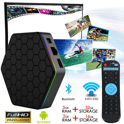 T95Z Plus Android 7.1 4K HD Smart TV Box Octa Core S912 WIFI 3+32G Media Player