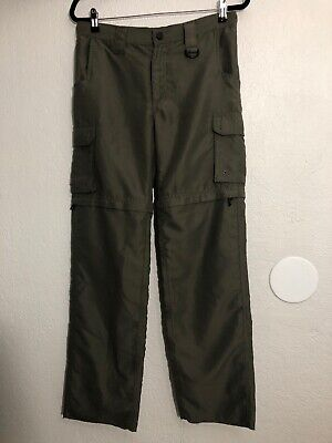 Boy Scouts of America Convertible Switchback Uniform Pants Youth Large Unhemmed
